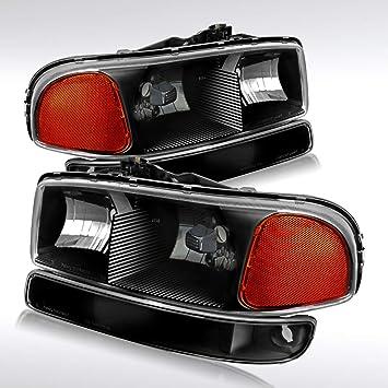 Autozensation For GMC C10 1500 Smoke Lens Headlights Bumper Corner Lamps Clear Tail Lights