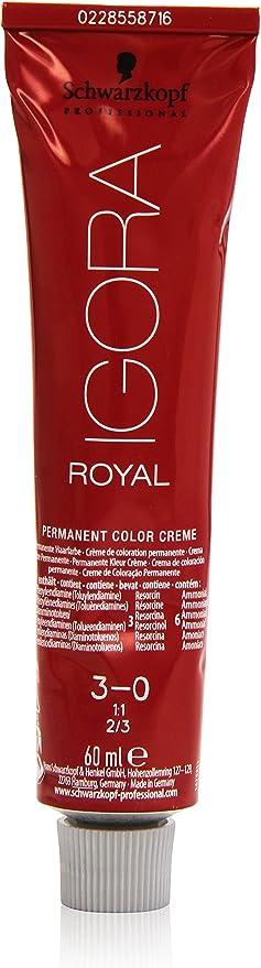 Schwarzkopf Professional Igora Royal 3-0 Tinte - 60 ml
