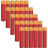 COCOSO 30 Pcs 9.5cm Red Foam Darts Refill for Nerf N-strike Elite Mega Series Blasters Toy Gun