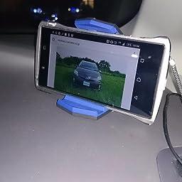 Amazon Co Jp カスタマーレビュー Spigen 車載ホルダー クリップ式 カースタンド 簡単取外し ワンタッチ 粘着ゲル 多機種対応 簡単設置 Tpu素材 スマホホルダー ステルス Sgp ブラック