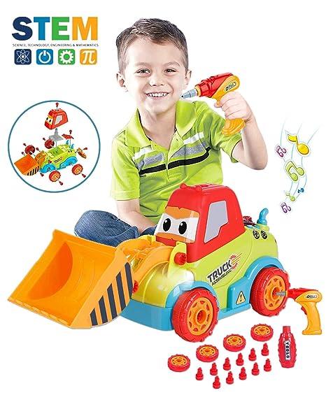 Take Apart Toys For 3 Year Old Boys Assembling Construction Bulldozer Kid 4