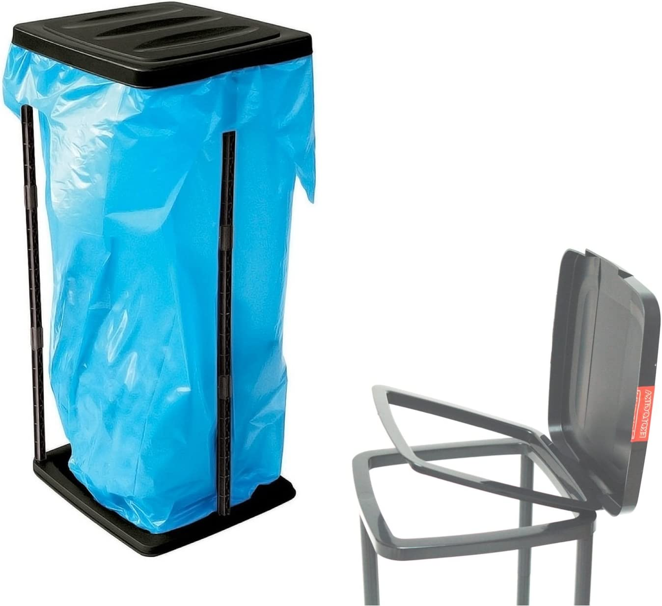 Ständer für Abfallsack Müllsack Müllsackständer Müllbeutelständer Abfall 120L