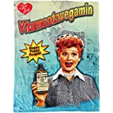 Midsouth Products I Love Lucy Throw Blanket - Vitameatavegamin
