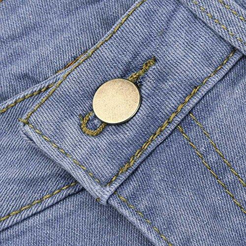 Taille Courts Bleu Jeans Sunenjoy Denim Mode 3 Pantalons Femmes Casual Pantacourt Dechir Casual Grande Et Trou Confortable Legging S Haute Bermudas Short Taille 3XL 4 S1wq0rS