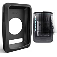 TUSITA Case with Screen Protector for Wahoo Elemnt Bike GPS (Not for Wahoo Elemnt Bolt)- Silicone Protective Cover Skin - Bike Computer GPS Navigator Accessories