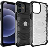 Restoo Compatible with iPhone 12 Mini Case,Anti-Slip Hard Armor ShockproofCase with Full Body Rugged Heavy Duty Protection f