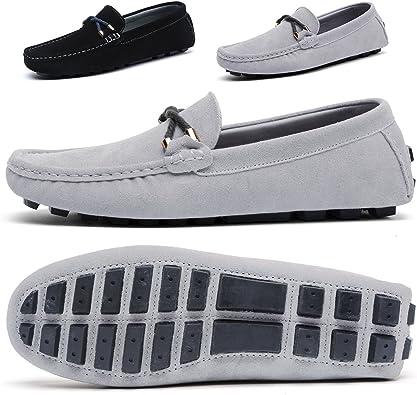 Amazon.com | BINSHUN Mens Slip On Shoes