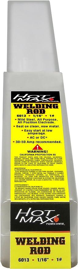 Hot Max 22075 1 16 Inch E6013 1 Arc Welding Electrodes Arc Welding Equipment Amazon Com