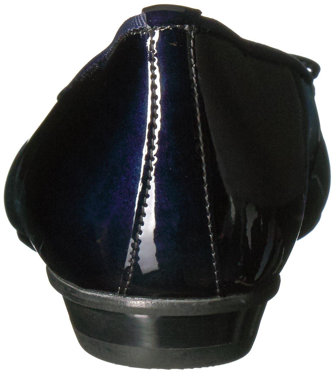 Paul Green Women's Emile Ballet Flat B01MY1F9Y0 10.5 B(M) US|Blue Steel Patent