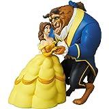 UDF ウルトラディテールフィギュア No.451 Disney シリーズ7 美女と野獣 野獣 & ベル 全高約100/80mm 塗装済み 完成品 フィギュア