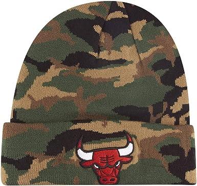 A NEW ERA Gorro (Beanie) NBA Chicago Bulls Esnl Camo Knit Verde ...