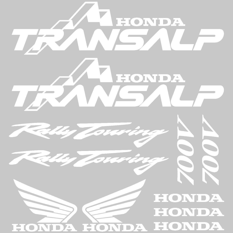 Amazonde Aufkleber Sticker Honda Transalp 700 V Ref Moto