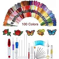 138 agujas de punzón con bordado mágico, juego