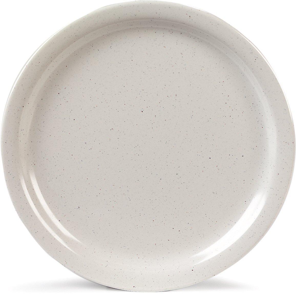 Carlisle KL20070 Kingline Dinner Plates, Set of 48 9-Inch, Melamine, Adobe