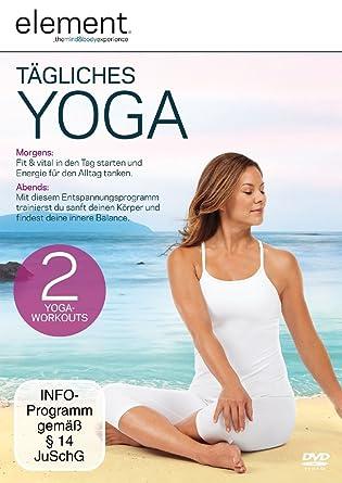 Element - Tägliches Yoga [Alemania] [DVD]: Amazon.es: Mia ...