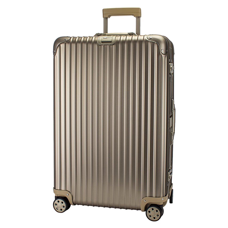 RIMOWA [ リモワ ] トパーズ チタニウム 923.73.03.4 Topas Titanium 85L マルチホイール チタンゴールド (シャンパンゴールド) スーツケース 4輪 [並行輸入品] B077KXKZ89