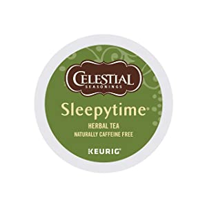Celestial Seasonings Sleepytime Herbal Tea, Single-Serve Keurig K-Cup Pods, 72 Count
