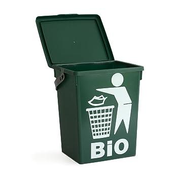 Biotonne Mit Tragegriff 5 Liter Volumen Abfalleimer