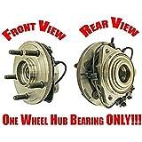 2 Mac Auto Parts 157618 100/% New Front Wheel Bearing Fits For Honda Accord Front Wheel Drive 2013-2017