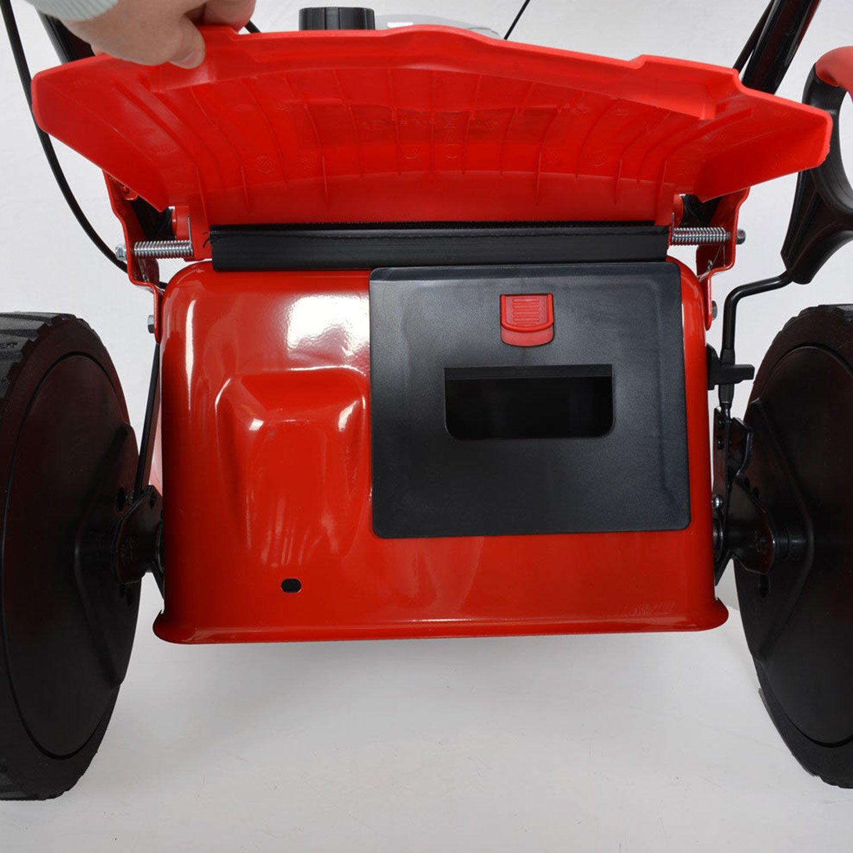 HECHT Cortacésped de gasolina 2,7 Kw/3,5 ps de potencia del motor ...