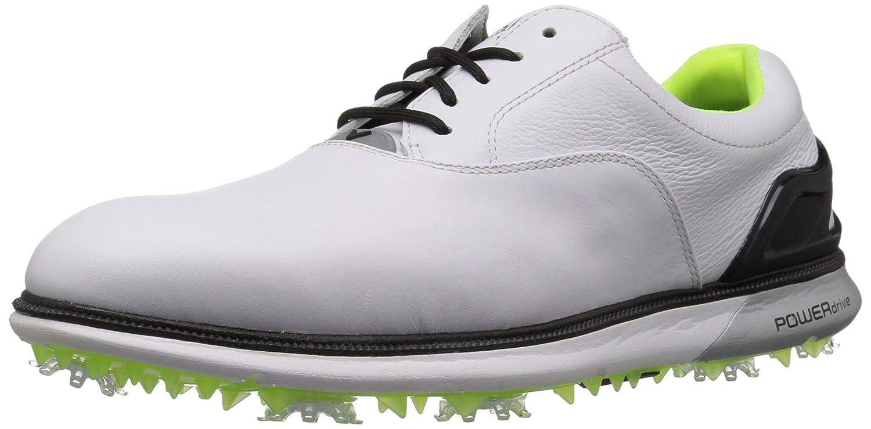 Image of Callaway La Grange Golf Shoes White/Lime Golf