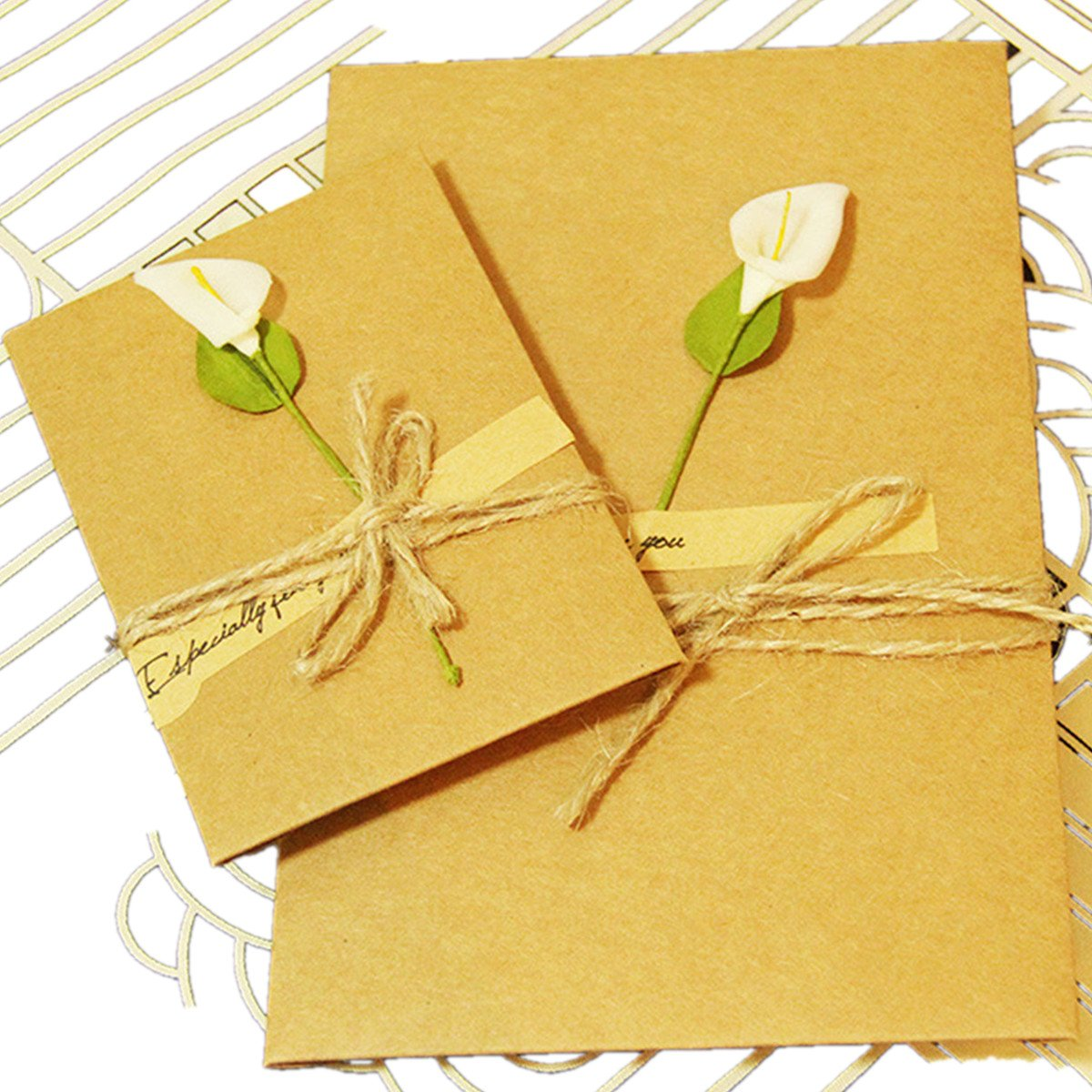Chiguo Christmas Cards Beautifully Greeting Notes Card For Xmas