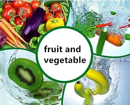 Casa Generador de Ozono limpiador de frutas verduras esterilizador purificador de aire agua: Amazon.es: Salud y cuidado personal
