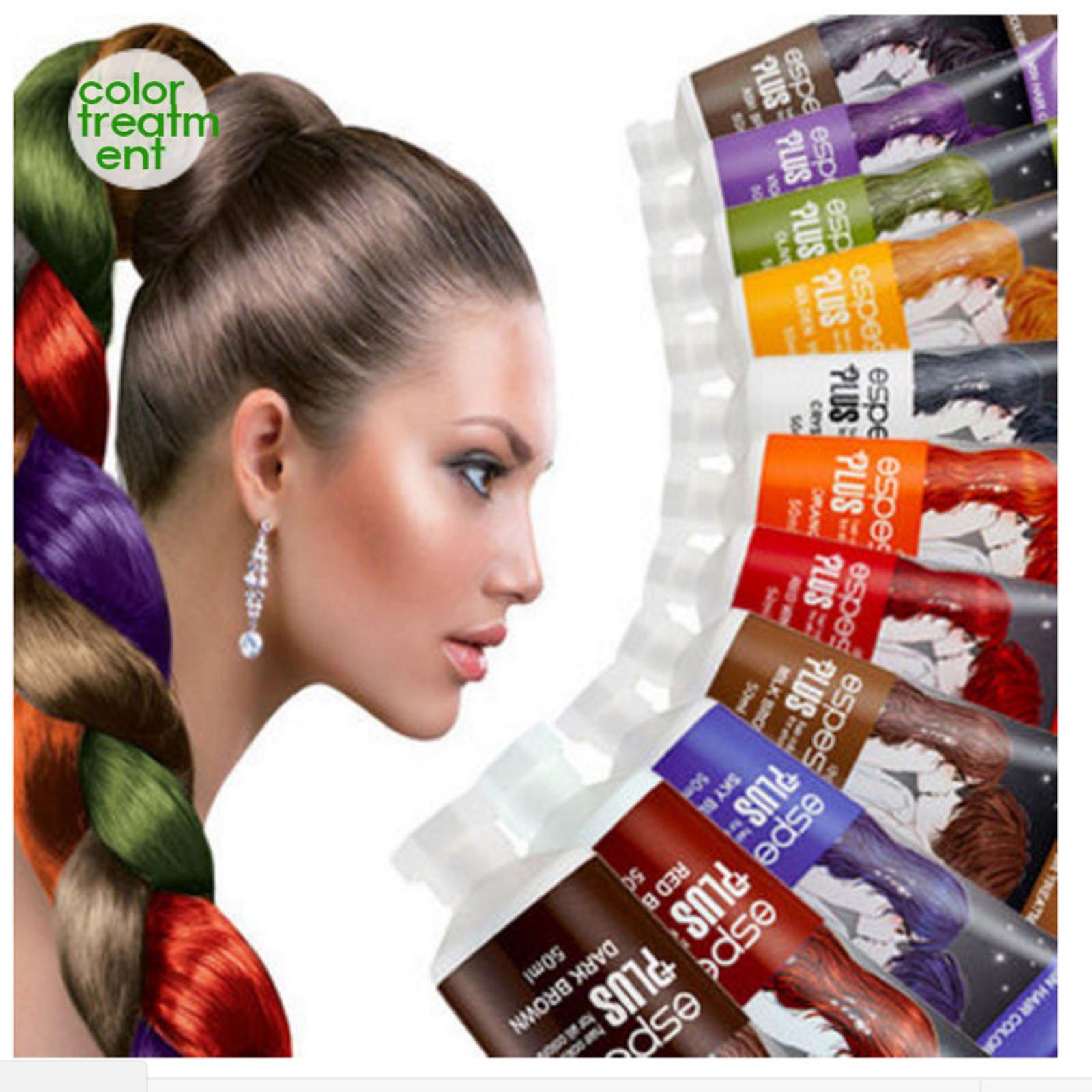 Hair Manicure Polish Color ESPESSO PLUS 50ml Diamond Powder Dark Brown Coating with Color K-Beauty MI Korea by ESPESSO PLUS (Image #5)