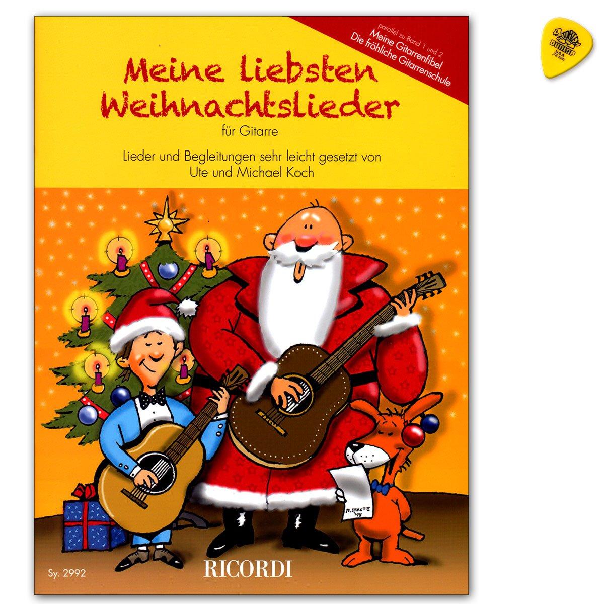 Meine Liebsten Weihnachtslieder für Gitarre - eine Sammlung der ...