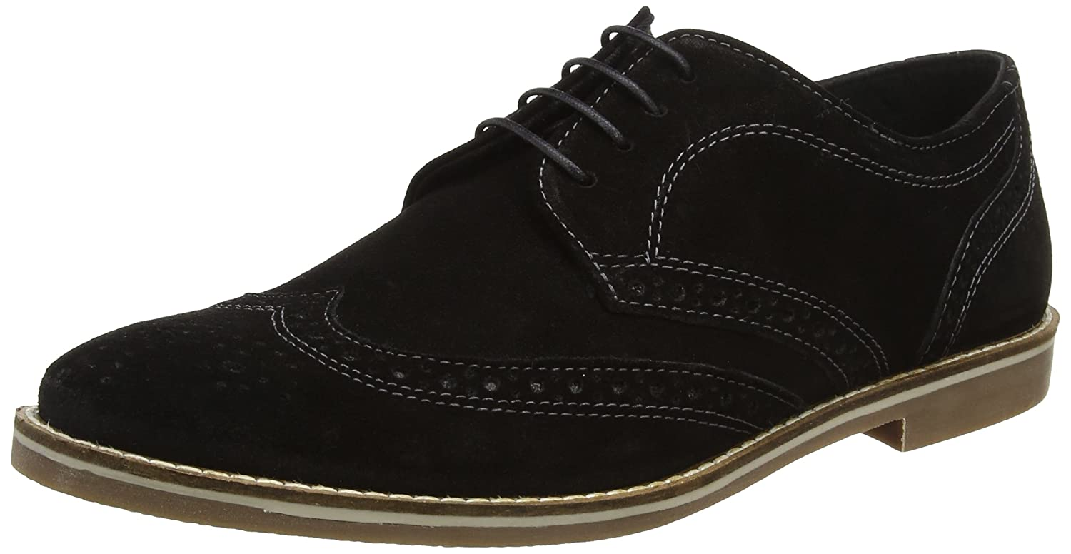 TALLA 7 UK EU. REK69|#Red Tape Checkley, Zapatos de Cordones Brogue para Hombre