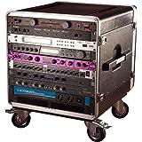 Gator 10U Rack Base with Casters for Console Audio Racks (GRC-BASE-10)