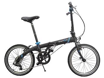 Dahon - Vybe 2017 - Bicicleta plegable D7 con ruedas de 20 pulgadas, 7 velocidades