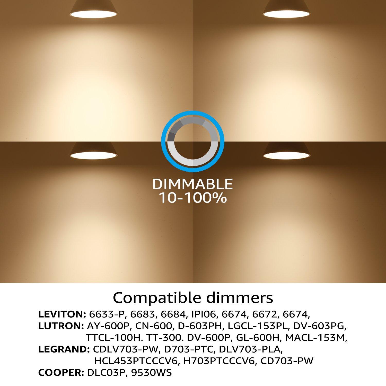 12W 75W Equiv Dimmable Pack of 12 Energy Star /& UL Listed LED E26 Medium Screw Base High CRI90+ TORCHSTAR PAR30 Short Neck LED Spot Light Bulb 3000K Warm White 3 Years Warranty 840Lm