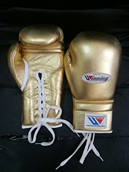 New Custom Made Real Leather Winning Boxing Gloves Winning