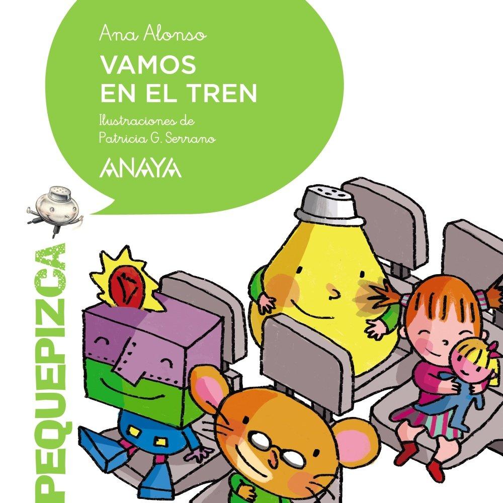 Vamos en el tren PRIMEROS LECTORES 1-5 años - Pequepizca: Amazon ...