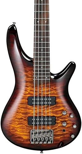 Ibanez SR405EQM 5-String Electric Bass Guitar