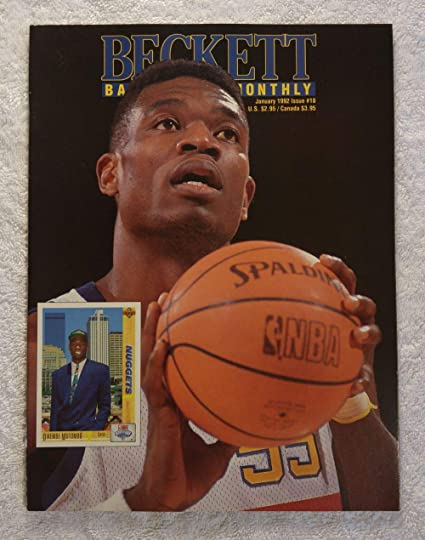 f48051c7a Image Unavailable. Image not available for. Color  Dikembe Mutombo - Denver  Nuggets ...