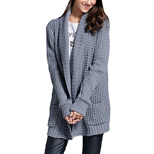 Zhuhaitf Agradable Classic V Neck Sweater Loose Long Sleeved Tops Europe and the United States Style...