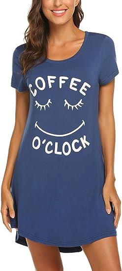 Hotouch Womens Night Shirt