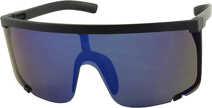 Fashion Sunglasses Flat Top Shades UV400 Mens Women Retro Mirrored Sun Glasses