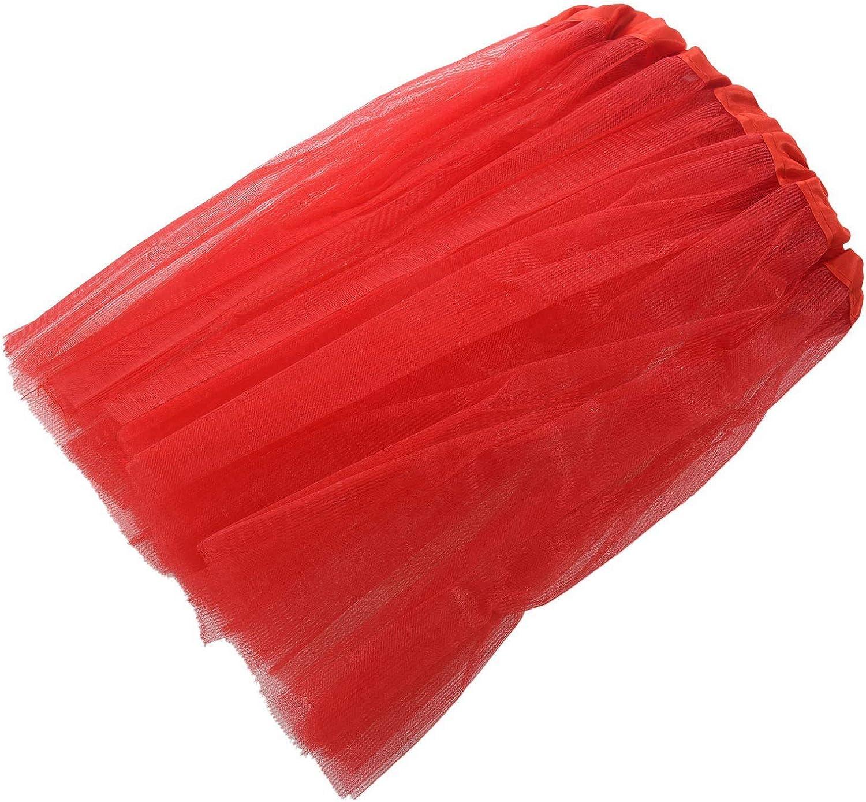 rouge REFURBISHHOUSE Robe de ballet Jupe de Tutu moderne pour les filles