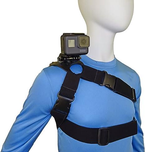 STUNTMAN 360 Jr – Arnés de hombro, pecho y cadera para cámaras de ...