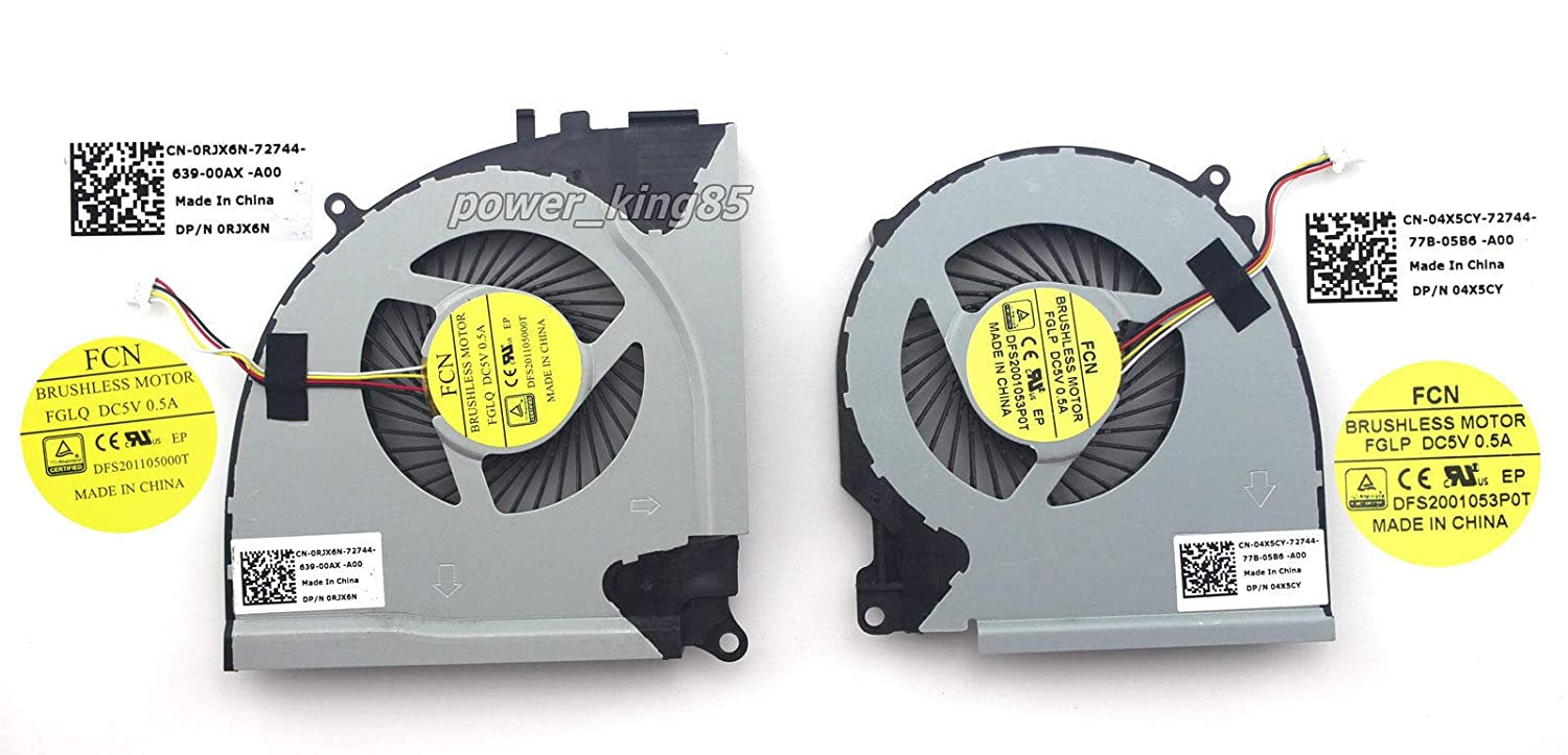 New CPU Cooling Fan for Dell Inspiron 15 7557