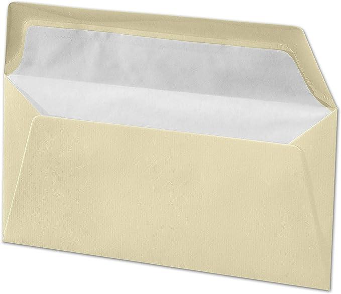 Weiß 25x Briefumschläge mit Haftstreifen DIN B6-17,6 x 12 cm