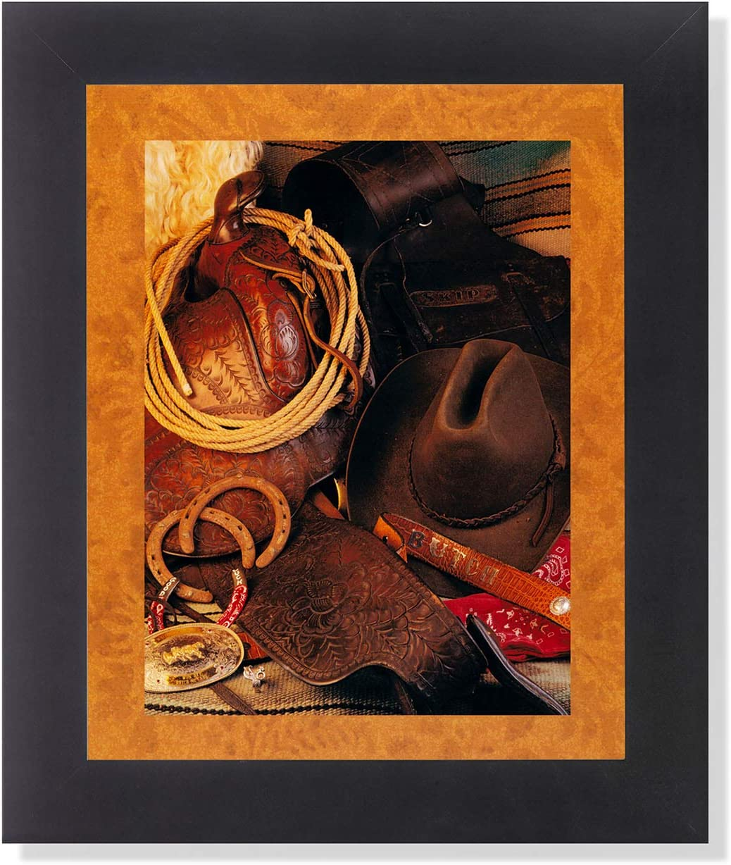 Old West Cowboy Memorabilia Western Rodeo Wall Picture Framed Art Print Old West Decor Posters Prints
