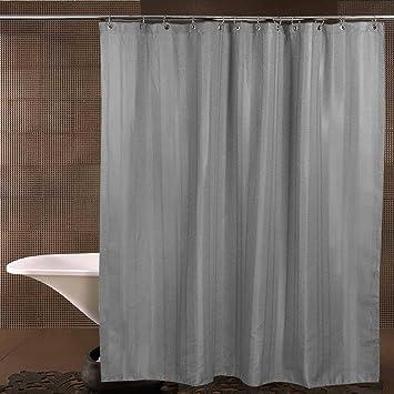Amazon.com: Shower Curtain, XIXOV Premium [Waffle Weave] Fabric ...