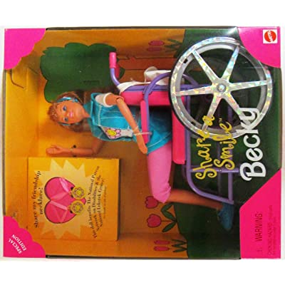 Barbie Becky Share a Smile Special Edition Doll (1996): Toys & Games