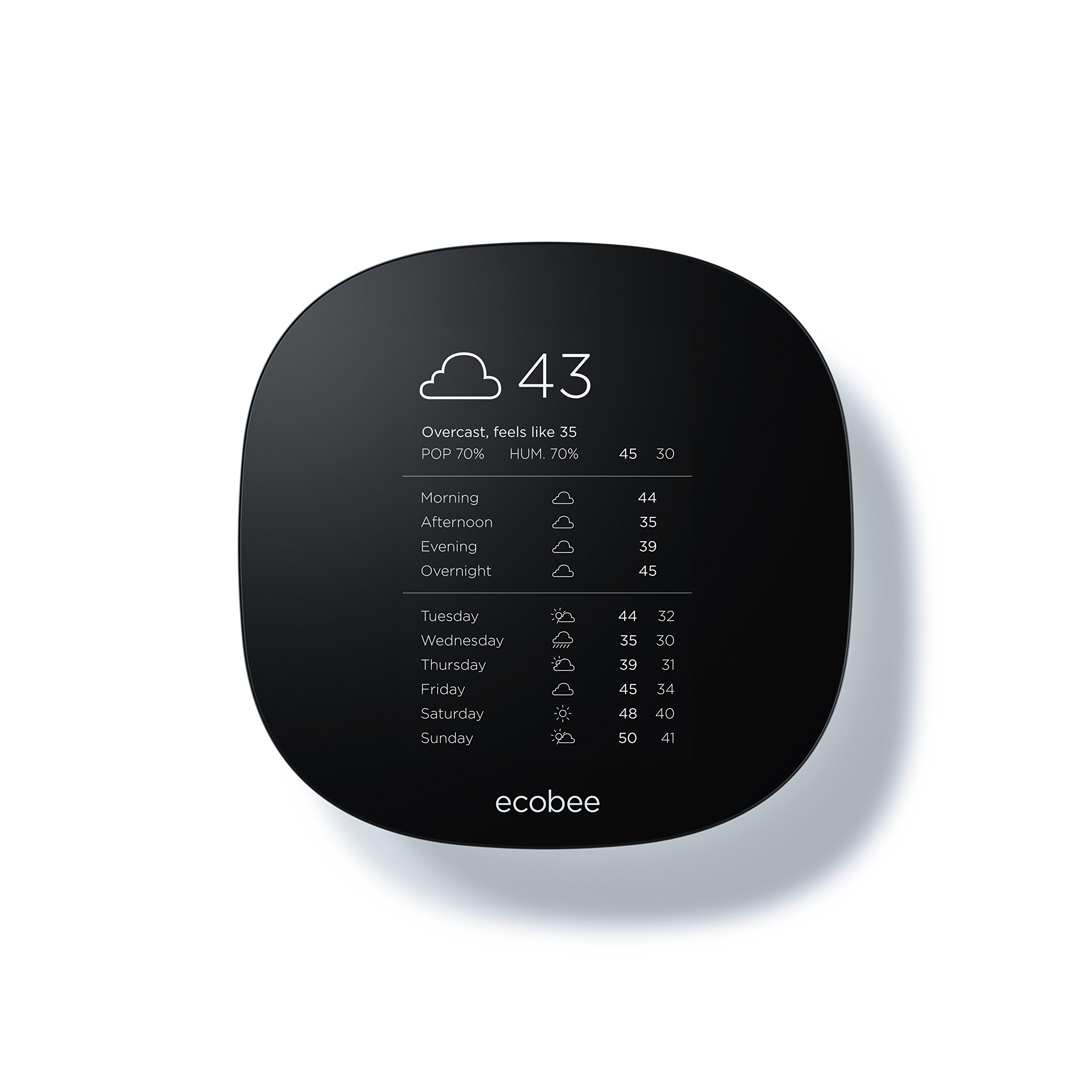 Ecobee3 Lite Thermostat, Wi-Fi, Works with Amazon Alexa by ecobee (Image #4)