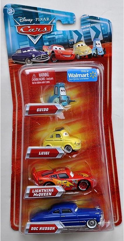Amazon Com Disney Pixar Cars Movie Exclusive 155 Die Cast 4pack