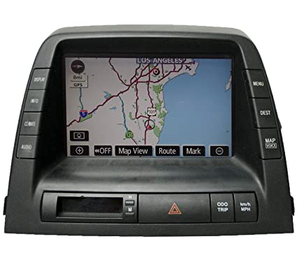 Amazon com: Toyota Prius Hybrid Navigation Radio Dash MFD